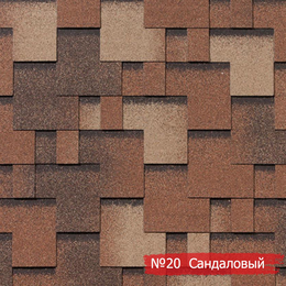 Битумная черепица RoofShield Premium Modern (Премиум Модерн) (17, 18, 19, 20, 26, 34, 37)