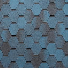 Битумная черепица Tegola Super Mosaic (Супер Мозаика) Синяя Ночь