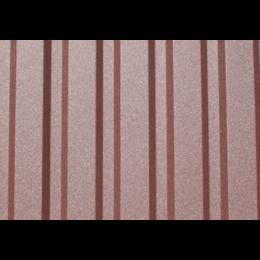 Профнастил ПС-8 с матовым покрытием 0,45мм (1225/1180мм)