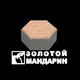 Тротуарная плитка Сота (140х125). Золотой Мандарин