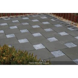 Тротуарная плитка Плита (400х400). Золотой Мандарин