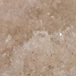Натуральный камень Травертин светлый-беж полированный