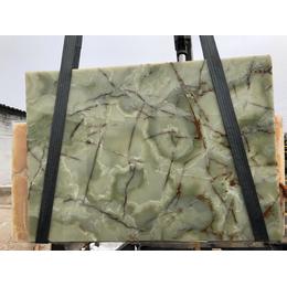 Натуральный камень Оникс Dark Green