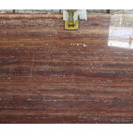 Натуральный камень Травертин Red VC