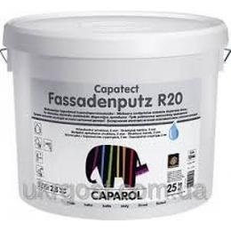 """Декоративная акриловая штукатурка Capatect-Fassadenputz R20 Transparent.""""Короед"""", зерно 2,0мм."""