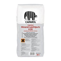 """Декоративная сухая минеральная штукатурка Capatect Mineral-Leichtputz K20.""""Барашек"""", зерно 2,0мм."""