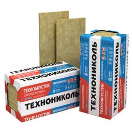 Утеплитель ТЕХНОАКУСТИК, 1200х600х100 мм (6 плит 4,32 м.кв)(40 кг/м3 )