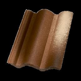 Цементно - песчаная черепица Terran Коппо Феррара
