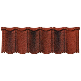 Композитная черепица Isola Powertekk Nordic Красно-коричневый