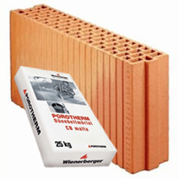 Керамический блок Porotherm 11.5 Profi
