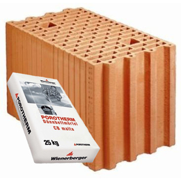 Керамический блок Porotherm 25 Profi