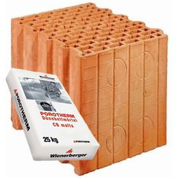 Керамический блок Porotherm 30 Profi