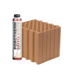 Керамический блок Porotherm Klima Dryfix 30