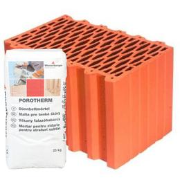 Керамический блок Porotherm Klima Profi 38