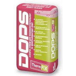 Dops ThermFix. Клеевая смесь для пенополистирольных и минераловатных плит  ЛЕТО