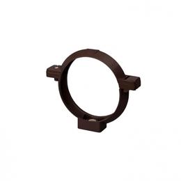Кронштейн трубы Rainway 75 мм коричневый
