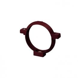 Кронштейн трубы Rainway 75 мм красный