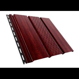 Софит-панель ASKO перфорированный Красное Дерево