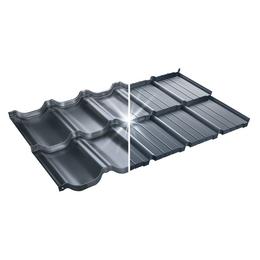 Модульная металлочерепица BudMat Murano S-Pure P724B