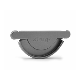 Водосток металлический Struga 125/90 Заглушка желоба