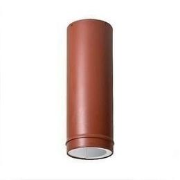 Изолированный кожух VILPE 110 мм кирпичный