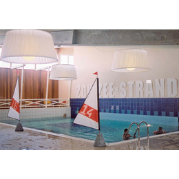 Плитка для бассейнов Interbau Blink Общественный бассейн крытого типа