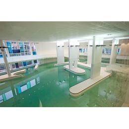 Плитка для бассейнов Interbau Blink Бассейн крытого типа в спорткомплексе