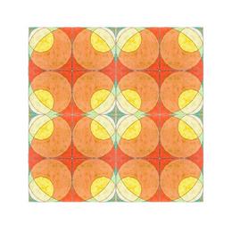 Напольная плитка FCB CIRCLES ручная работа, глазурованная