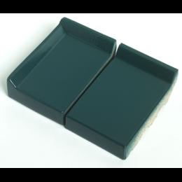 Клинкерный подоконник St.Joris Глазурованный зеленый