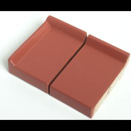 Клинкерный подоконник St.Joris Глазурованный оранжевый