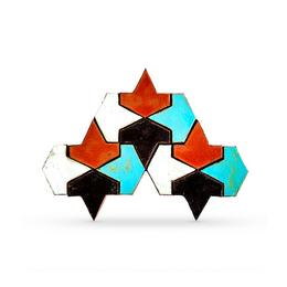 Напольная плитка FCB Aztec (элемент декора)