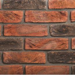 Екатеринославский кирпич ручной формовки Микс сливовый и графит
