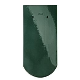 Керамическая черепица Braas Опал Зеленый бриллиант (сосновый) Топ глазурь