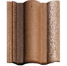 Цементно - песчаная черепица Braas Адрия коричневый (vecchio)