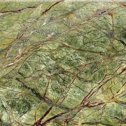 Натуральный камень мрамор Forest Green