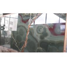 Натуральный камень Оникс Onice Verde Foresta