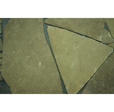 Песчаник серо-зеленый рваный край 10-15 мм