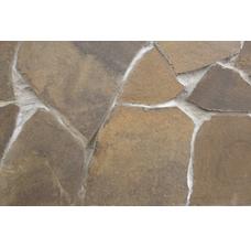 Песчаник оливковый рваный край 15-25 мм