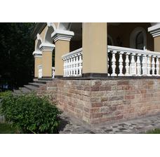 Изображение 4 Известняк Кингисеппский плитка с заколом 100*L погон*35-50 мм.