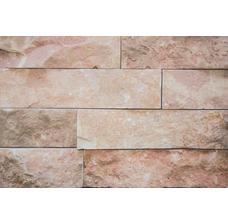 Известняк розовый/Доломит полоска 3-х ст. В-30 x L погон