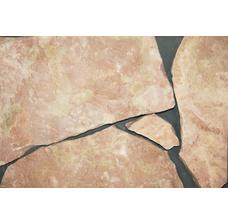 Известняк розовый/Доломит рваный край 20-40 мм.
