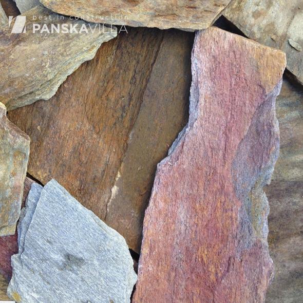 Кварцит Кора дерева рваный край 15-30 мм
