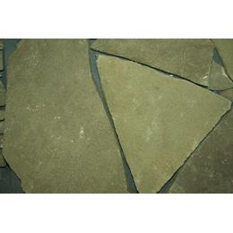 Песчаник серо-зеленый рваный край 50 мм