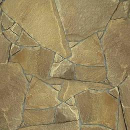 Песчаник бежево-коричневый рваный край 30 мм.