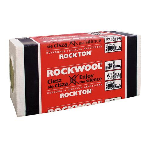 Базальтовый утеплитель ROCKWOOL ROCKTON 1000*600*50 (6 м2) *