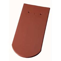 Керамическая черепица Koramic Бобровый хвост (Лангензенн) Красная ангоба