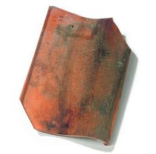 Керамическая черепица Koramic Old Hollow (Потелберг) Красная викторианская