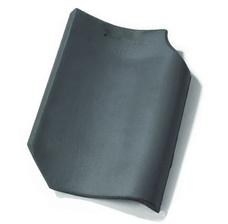 Керамическая черепица Koramic Old Hollow (Потелберг) Серо-синяя ангоба