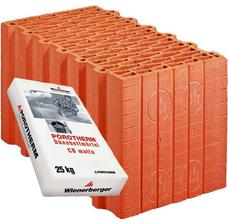 Керамический блок Porotherm 38 Profi