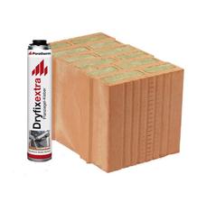 Керамический блок Porotherm T Profi Dryfix 38